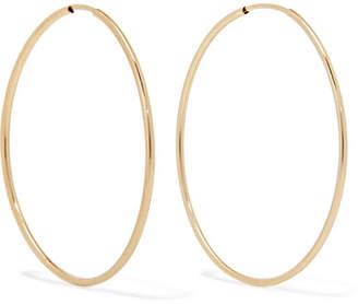 Loren Stewart - Nakita 14-karat Gold Hoop Earrings
