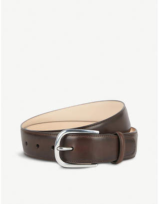 Paul Smith Vegetable-tanned leather belt