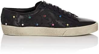 Saint Laurent Women's Court Classic Leather Sneakers