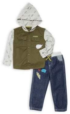 Nannette Little Boy's Two-Piece Hoodie & Pants Set