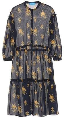 MiH Jeans Lyra floral cotton midi dress
