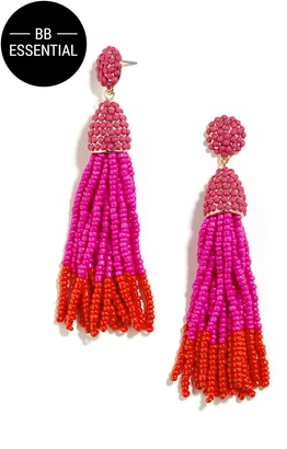 Piñata Tassel Earrings $36 thestylecure.com