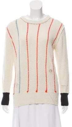 Raquel Allegra Bouclé Knit Sweater
