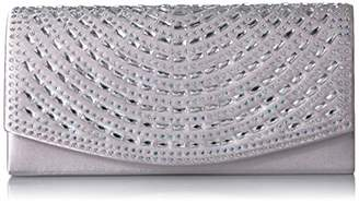 Jessica McClintock Connie Rhinestone Flap Clutch