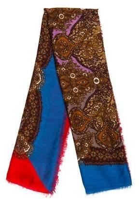 Gucci Silk-Blend Square Scarf