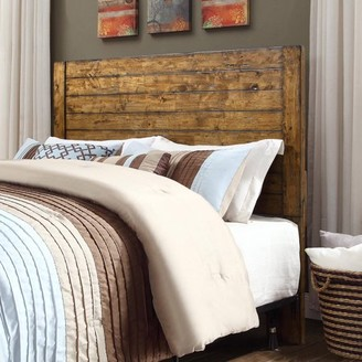 Better Homes & Gardens Better Homes and Gardens Bryant Full/Queen Solid Wood Headboard, Rustic Brown Finish