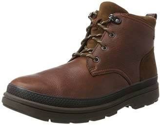 Clarks Men's Rushwaymid GTX Classic Boots, Brown (British Tan Lea-)