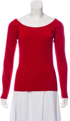 Michael Kors Lightweight Cashmere Top Red Lightweight Cashmere Top