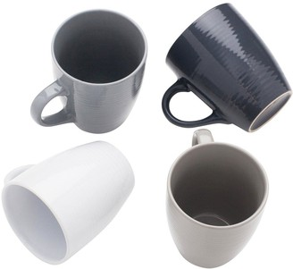 Sabichi Set of 4 Textured Mugs