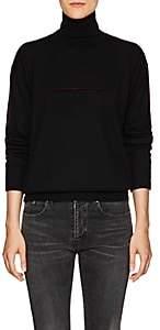 MM6 MAISON MARGIELA Women's Wool Turtleneck Sweater-Black