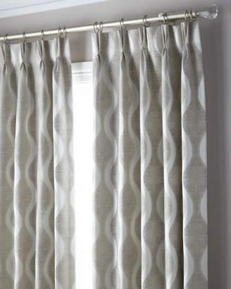 "Parker 6009 3-Fold Pinch Pleat Wave Curtain, 108"""