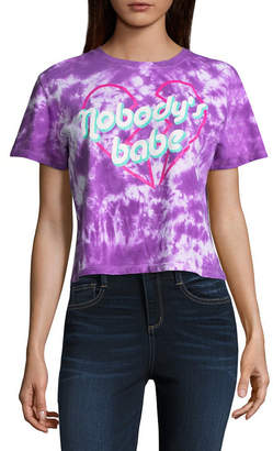 Freeze Nobody's Babe Cropped Tee - Junior