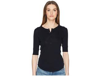 Vince Elbow Sleeve Henley