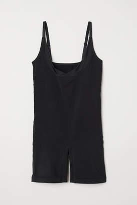 H&M H&M+ Seamless Shaping Bodysuit - Black