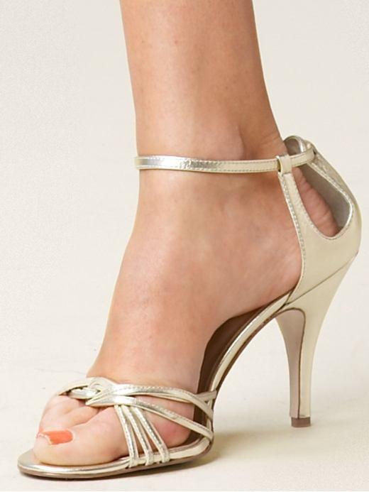 'Mabel' ankle-strap sandal