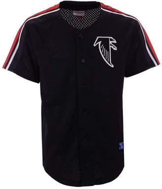 Mitchell & Ness Men Atlanta Falcons Winning Team Mesh Button Front Jersey