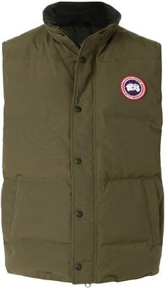 Canada Goose slim-fit padded gilet