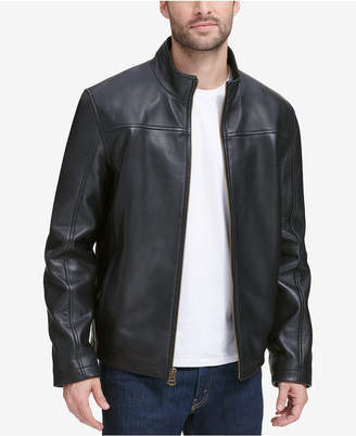 Cole Haan Men's Smooth Leather Jacket