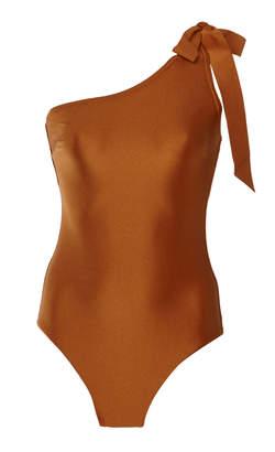 Zimmermann Venetoa Asymmetric One-Piece Swimsuit