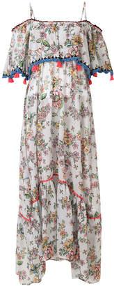 Anjuna floral off-shoulder dress
