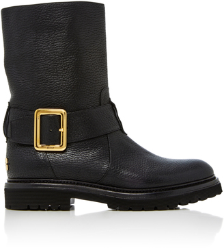 Bally Georgy Leather Ankle Boots $850 thestylecure.com