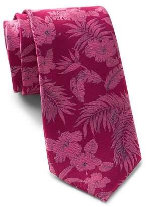 Ted Baker Tropical Botanical Silk Tie