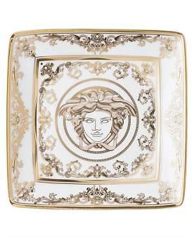 Versace Medusa Gala Square Dish 12Cm