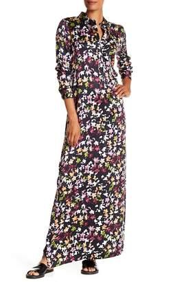 Equipment Simone Print Silk Maxi Dress