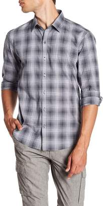 Zachary Prell Zander Plaid Print Shirt