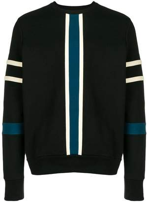 Paul Smith stripe panel jumper