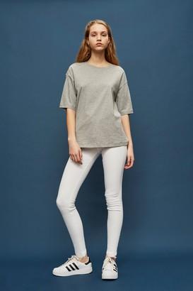 Topshop Womens Tall Moto Jamie Jeans - White