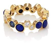 Pamela Love Fine Jewelry Women's Large Paillette Band-Blue