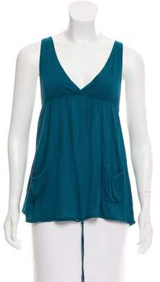 Joie Sleeveless V-Neck Top