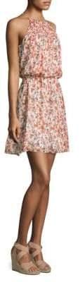 Joie Reinelde Floral Blouson Dress