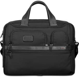 Tumi Men Expandable Organizer Computer Briefcase