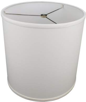 "FenchelShades.com 12"" Top Diameter x 12"" Bottom Diameter 12"" Height Cylinder Drum Lampshade USA Made"