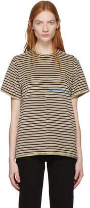 Eckhaus Latta Multicolor Velvet Lapped T-Shirt