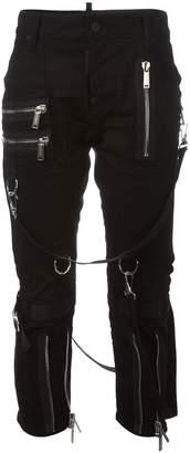 DSQUARED2 'Icon' strap jeans