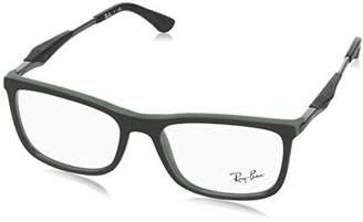 Ray-Ban Women's 0RX 7029 5197 Optical Frames, Black (Negro)