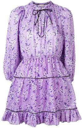 Ulla Johnson floral long-sleeve dress