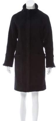 Apiece Apart Textured Knee-Length Coat