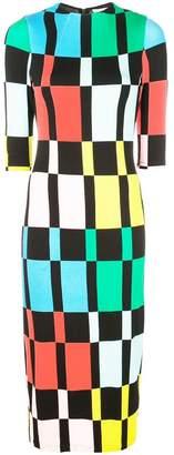 Alice + Olivia Alice+Olivia Delora fitted dress