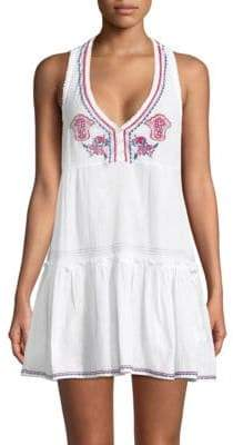 OndadeMar Embroidered Cotton Tunic