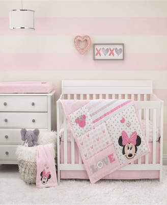 Disney Minnie Mouse Love to Love 3-Piece Crib Bedding Set Bedding