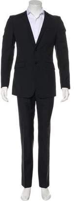 Burberry Velvet-Trimmed Wool-Blend Suit
