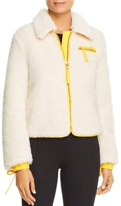 Tory Burch Trimmed Sherpa Jacket
