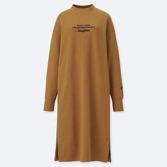 Uniqlo Women's Celebrate Mickey Sweat Dress