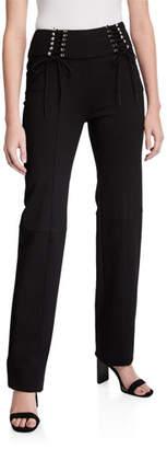 I.AM.GIA Carolina Pants with Lacing Detail