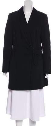 Akris Punto Knee-Length Belted Coat