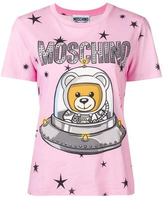 Moschino space teddy-print T-shirt